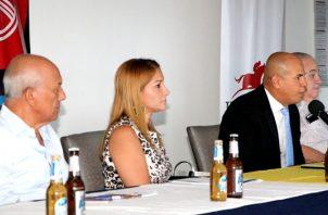 Armando Hill Piña, Zaira Paz, Carlos De Oliviera y Carlos Salazar,