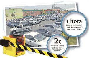 Consumidores tendrían que guardar un dinero extra para el pago de los estacionamientos