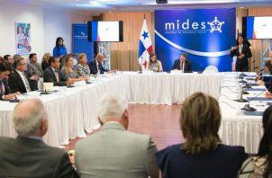 El Gabinete Social, instalado por el presidente Laurentino Cortizo busca aprobar proyectos para el combate de la pobreza en el país.