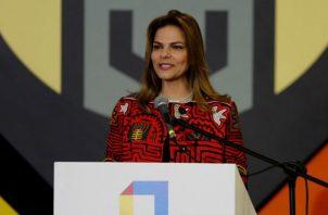 La presidenta de ProColombia, Flavia Santoro.  EFE