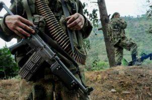 Miembros de la FARC. Foto: EFE