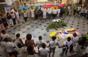 """Durante  el Día Nacional por la Dignidad de las Mujeres Víctimas de Violencia Sexual, el procurador general, Fernando Carrillo, denunció que """"los delitos sexuales siguen en aumento desproporcionado en todo el país"""". FOTO/EFE"""