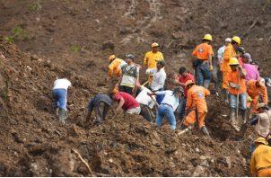 Ante la gravedad de la situación, el presidente colombiano, Iván Duque viajó el domingo al Cauca junto a los ministros de Vivienda, Jonathan Malagón, y de Transporte, Ángela María Orozco.