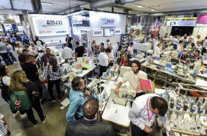 La actividad está dirigida a las empresas del sector  textil. Foto: Cortesía