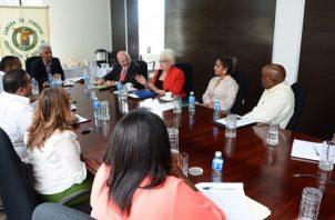 Empresarios de Colón se reúnen para  hablar de Puerto Libre. Cortesía