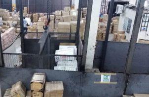 En su mayoría, las mercancías presuntamente falsifcadas corresponden a artículos eléctricos. Foto/Diómedes Sánchez