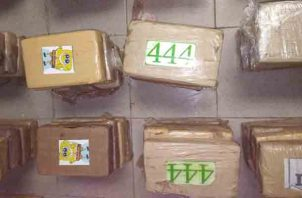 La droga encontrada tenía como destino un puerto colonense. Foto/Diómedes Sánchez