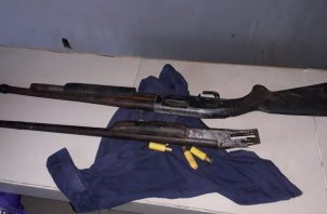 El agresor utilizó una escopeta calibre 12  para dispararle a un sujeto de 48 años. Foto/Diómedes Sánchez