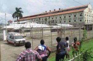 Vista del Centro Penitenciario Nueva Esperanza, en Colón.