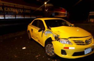 El transportista no permitió que lo llevaran al cuarto de urgencias. Foto Diómedes Sánchez