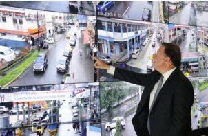 Gobierno apuesta a sistema de videovigilancia para minimizar el crimen en Colón. Cortesía