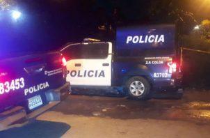 Al lugar llegó Criminalística y la Policía Nacional. Foto: Diómedes Sánchez.