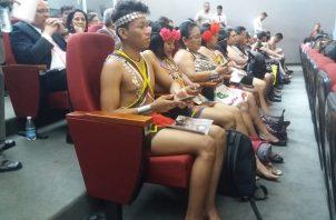 Ayer se abordó el tema durante la instalación de la comisión de Asuntos Indígenas. Foto de Adiel Bonilla