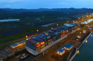 Autoridades deben adecuar la capacidad de la logística portuaria. Foto: Canal de Panamá
