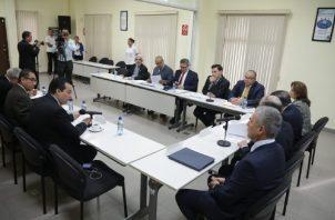 La semana pasada, el Pacto de Estado por la Justicia aclaró criterios con el presidente Laurentino Cortizo. Foto de cortesía