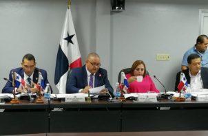 Comisión de Presupuesto de la Asamblea Nacional.