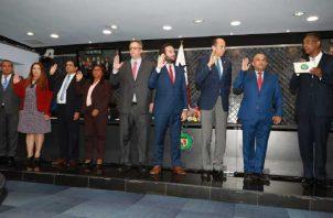 La ratificación de los nueve miembros de la Comisión de Gobierno se realizó en el día de ayer. Archivo
