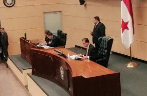 La sesión del pleno de la Asamblea Nacional fue corta.
