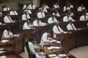 Se espera inicio de sesiones en el Pleno de la Asamblea cerca de las 9:30 de la mañana.