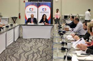 Reunión de la Concertación Nacional para el Desarrollo.