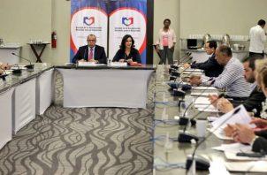 La Concertación Nacional aprobó el paquete de reformas constitucionales y lo entregó al Ejecutivo.