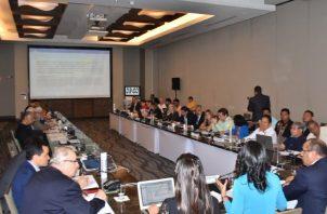 La Concertación Nacional Para el Desarrollo se reunió para aprobar el paquete de las reformas.