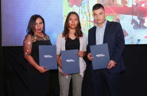 Ganadores del Concurso Nacional de Artistas Noveles del año pasado.  Cortesía