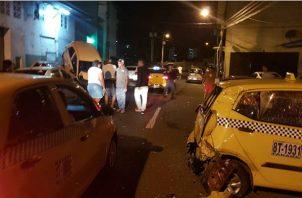 Un total de 38 vehículos resultaron afectados.