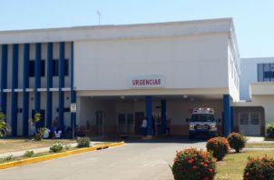 El paciente se encontraba recluido en el hospital Gustavo Nelson Collado. Foto: Thays Domínguez.