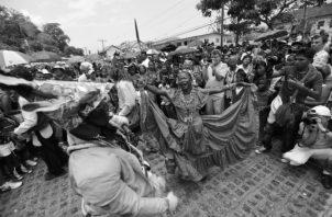 Las expresiones rituales y festivas de la cultura congo de Panamá fueron inscritas en la lista de Patrimonio Inmaterial de la Humanidad de la Unesco. Foto: Archivo.