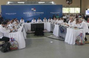 Laurentino Cortizo anunció que el martes 9 de julio la reunión de ministros será en la Presidencia y que el martes 16 de julio el Consejo de Ministros se llevará a cabo en el distrito de San Miguelito.
