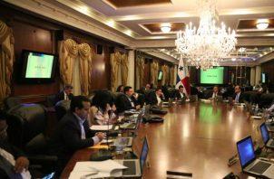 Consejo de Gabinete.