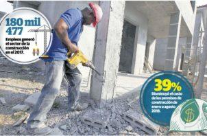 La falta de una marca país y la baja competitividad son factores que han incidido en que la industria de la construcción