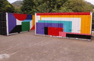 El Contenedor MAC, permitirá democratizar las artes en Panamá. Foto: Cortesía MAC.