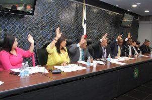 Seis de los nueve diputados de la comisión votaron en contra. Foto de cortesía