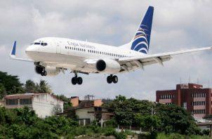 El avión sufrió un desperfecto que provocó que el piloto al mando aterrizara de emergencia en México. Foto: Redes sociales.