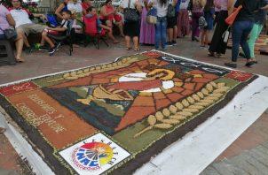 Primer Paseo de Danzas del Corpus Christi (infantil y juvenil) celebrado en el Centro Histórico de la Ciudad Capital.