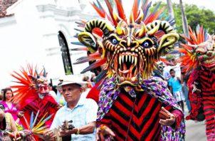 La fiesta de Corpus Christi en La Villa de Los Santos atrae la llegada de cientos de turistas nacionales y extranjeros.