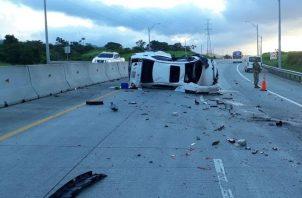 Víctima fatal en Corredor Norte.