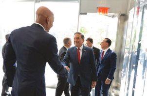 Reiteran compromiso de cumplir con el Gafi Foto: Presidencia