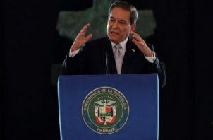 El gobernante viajó con destino a Nueva York en el avión presidencial, con parte de la delegación oficial que le acompaña.