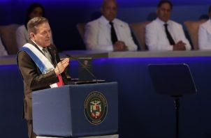 El presidente panameño Laurentino Cortizo llevará a cabo este miércoles su primer Consejo de gabinete, en Divisa. FOTO/EFE