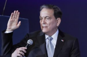 """Cortizo pidió reformas """"sin el odio que nada resuelve"""". Foto de AP"""