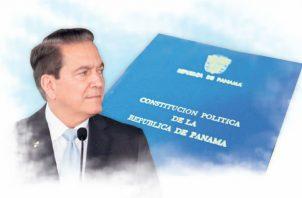El método de dos legislaturas y referendo será el que empleará Cortizo. Foto de archivo