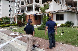 Se evalúan los daños a los edificios.