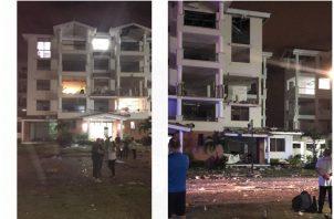 La explosión en Costamare se registró la noche del viernes 31 de mayo.
