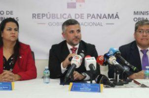 El Ministro de Obras Públicas, Rafael Sabonge informó que la Costanera va desde Panamá Pacífico hasta el hospital Nicolás Solano.