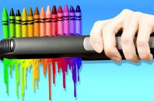 El crayón, lo más criticado por los ciudadanos durante el proceso de votación. Foto: Redes sociales.
