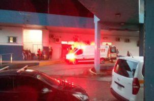 La mayoría de los casos de violencia en Colón llegan al Complejo Hospitalario Manuel A. Guerrero. Diómedes Sánchez