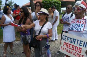 Panameños y extranjeros enfrentados por polémica norma migratoria del diputada Zulay Rodríguez. Foto/Archivos